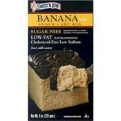 Banana Cake Mix 8 oz.