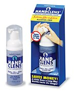 HandClens Alcohol-Free Instant Sanitizing Foam 1.7 oz.