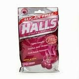 Halls Black Cherry Sugar Free Drops Citrus Blend (25)