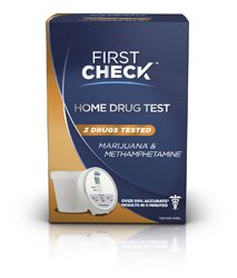 First Check Home Drug Test Marijuana & Methamphetamine