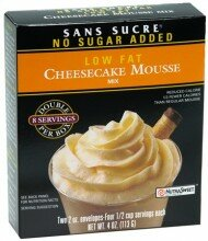 Cheesecake Low Fat Mousse Mix 4 oz.