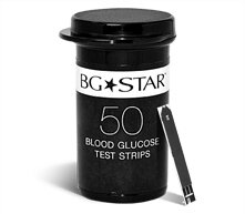 BGStar® Blood Glucose Test Strips (50)