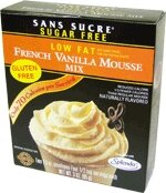 French Vanilla Low Fat Mousse Mix 4 oz.
